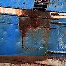 Blue Rusty Boat by timkirman