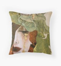 String Bean Love Throw Pillow