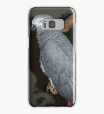 African Grey Samsung Galaxy Case/Skin
