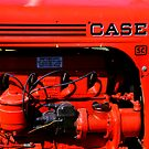 Case Tractor Engine by Russell Fry