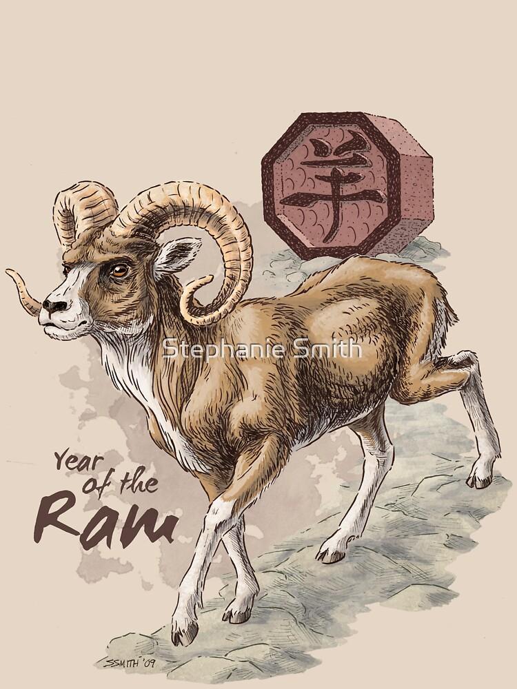Chinese Zodiac - the Ram by stephsmith