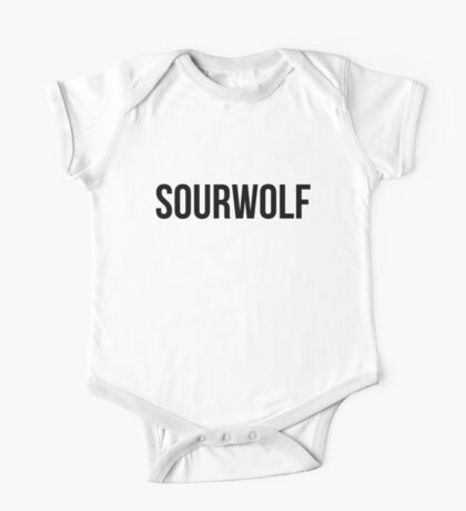 don't be such a sourwolf Kids Clothes