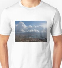 Cruising Into the Port of Naples, Italy T-Shirt