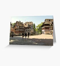 Strasbourg - Petite France Greeting Card