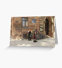 Street performers Greeting Card