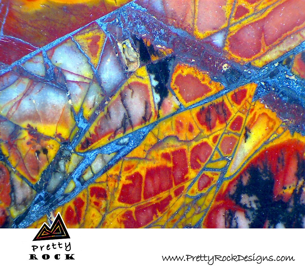 Pretty Rock Designs Calendar Cover #1 by Stephanie Bateman-Graham