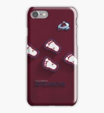 Colorado Avalanche Alternate Design iPhone Case/Skin