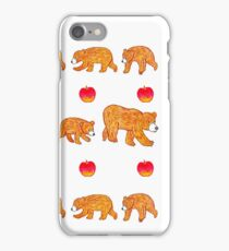 Hungry bear family iPhone Case/Skin