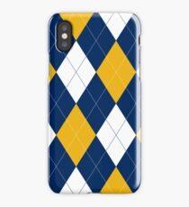 Michigan Argyle iPhone Case
