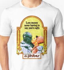 Abominable Dr. Phibes - Love  Unisex T-Shirt