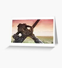 West Coast - A View Greeting Card