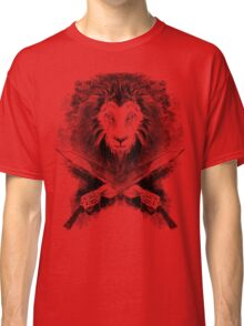 Lion Heart (black) Classic T-Shirt