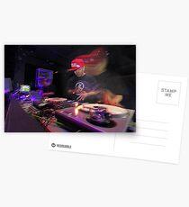 Shape Shifting Through Music. Postcards
