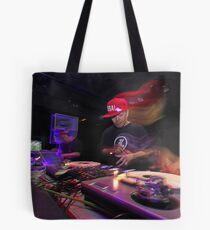 Shape Shifting Through Music. Tote Bag