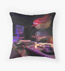 Shape Shifting Through Music. Throw Pillow