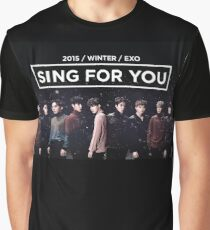 EXO 'Sing For You' Winter Night Edition Graphic T-Shirt