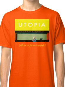 Utopia - T-Shirt - Where Is Jessica Hyde? Classic T-Shirt