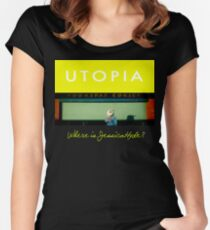 Utopia - T-Shirt - Where Is Jessica Hyde? Women's Fitted Scoop T-Shirt