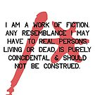 i am a work of fiction by titus toledo
