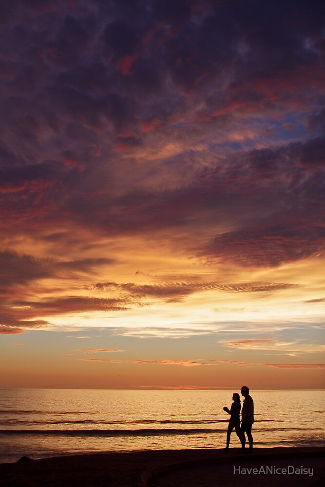Walk Through Sunset by HaveANiceDaisy