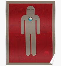 Iron Men's Room Mark I Poster