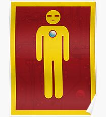 Iron Men's Room Mark II Poster