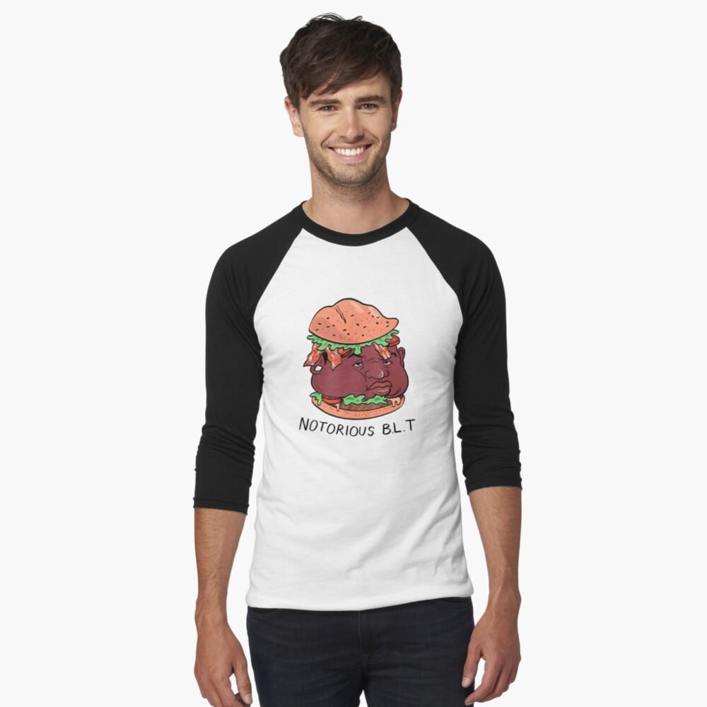 Berüchtigte BLT (PUN PANTRY) Baseballshirt mit 3/4-Arm
