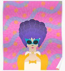 Modern Marie Antoinette Poster