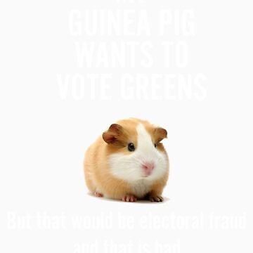 My guinea pig is voting Greens by jamesclark