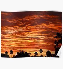 SoCal Sunset 9-1-13 Poster