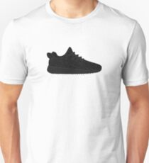 Yeezy Boost 350 Black Unisex T-Shirt
