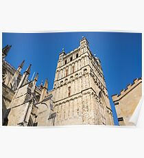 exeter cathedral Poster