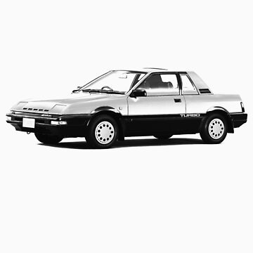 Datsun Nissan Pulsar EXA Turbo 1984 by tiefholz