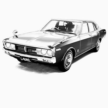 Nissan Laurel Sedan (C130) 1974–1977 by tiefholz