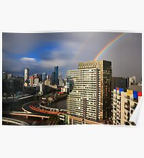 Double Rainbow, Melbourne Poster