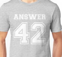 42 - Answer Unisex T-Shirt