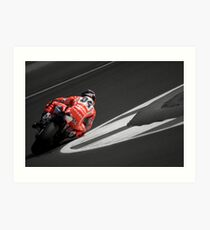 MOTO GP Silverstone 2013 - Dovizioso Art Print