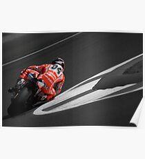 MOTO GP Silverstone 2013 - Dovizioso Poster