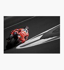 MOTO GP Silverstone 2013 - Dovizioso Photographic Print