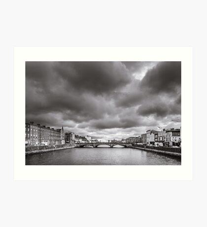 St Patrick's Bridge, Cork, Ireland Art Print