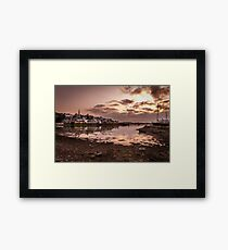 Crosshaven Evening in Co Cork Framed Print