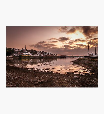 Crosshaven Evening in Co Cork Photographic Print