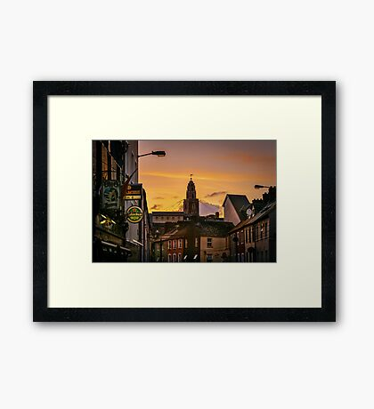 Shandon Bells from Afar Framed Print