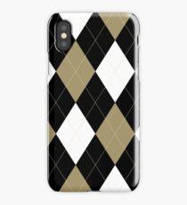 Wake Forest Argyle iPhone Case