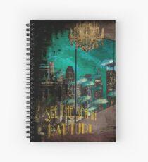 """Cuaderno de espiral Anuncio de viaje Bioshock """"Vintage"""""""