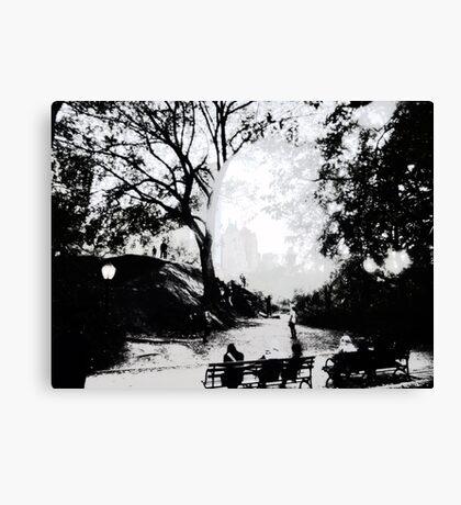 Central Park Structured Canvas Print