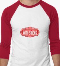 Sleeping With Sirens Sticker/Tshirt Men's Baseball ¾ T-Shirt