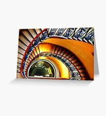 Courtauld Gallery Staircase II Greeting Card