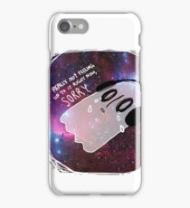 """I call it """" Lay on the ground and feel like garbage."""" iPhone Case/Skin"""