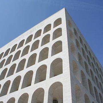 Rome - Picture - Square Colosseum. by MrWhiteBRBA